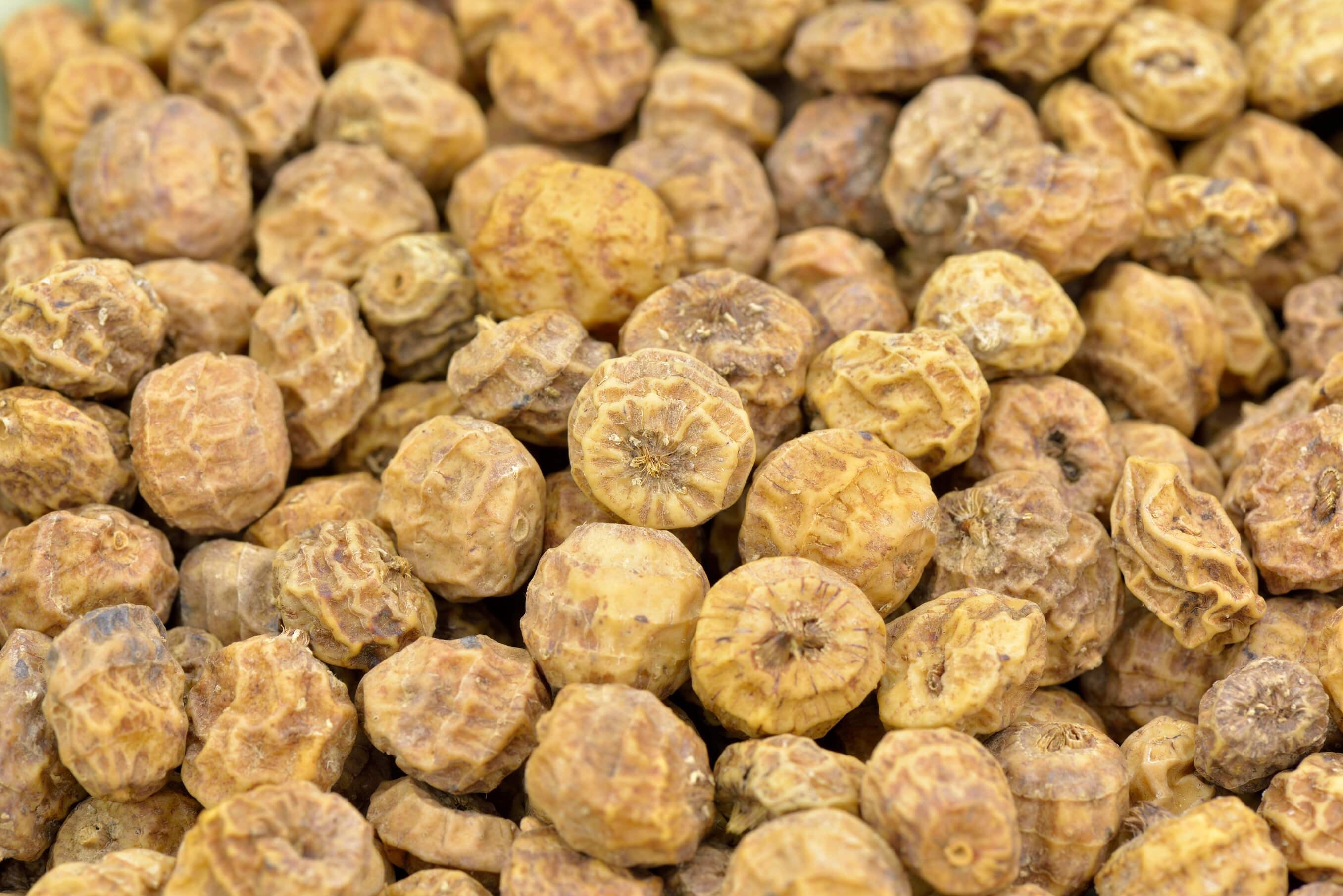 Tigernuts closeup