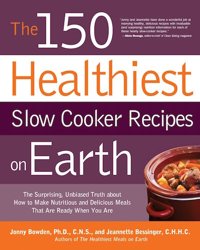 The 150 Healthiest Slow Cooker Recipes - Book Cover