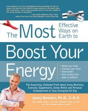 150 Most Effective Ways to Boost Your Energy - Book Cover
