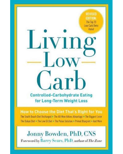 Living Low Carb - Book Cover